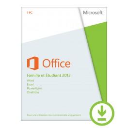 Logiciel Microsoft Office 2016 Famille et étudant