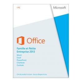 Logiciel Microsoft Office 2013 Home and Business